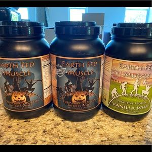 Brand new Earthfed muscle protein SEALED